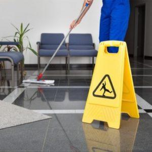 Podjetje za čiščenje poslovnih prostorov
