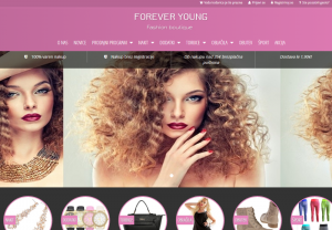 Spletna trgovina z modnimi dodatki in oblačili