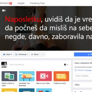 Facebook stran Jaka Žena – 140,000 Like-ov