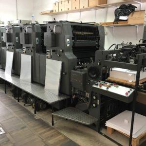 Prodam opremo za tiskarno z offset stroji
