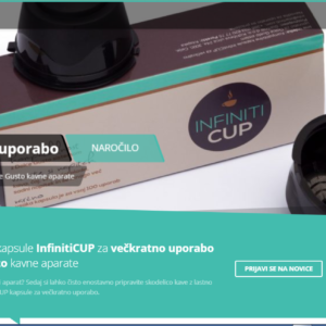 Spletna trgovina – Dolce Gusto kapsule za večkratno uporabo, kavni aparati & kava