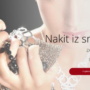 Naprodaj utečen posel prodaje nakita iz srebra in nerjavečega jekla