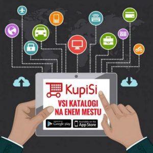 Prodam KupiSi Katalog in mobilno aplikacijo