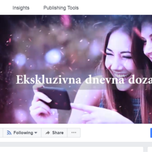 Facebook stran Kroner – 400.000 likov